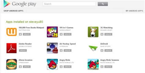 uninstall android update you can now easily uninstall and update android apps from play website