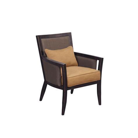 Custom Dining Chair Cushions Brown Greystone Patio Dining Chair With Toffee Cushions 2 Pack Custom Mt005 D 3