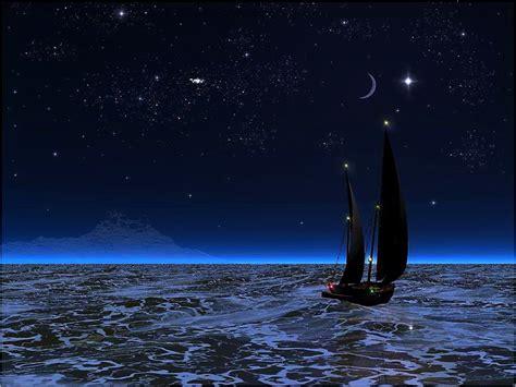 sailboat at night pin sailboat at night wallpaper widescreenwallpapersin on