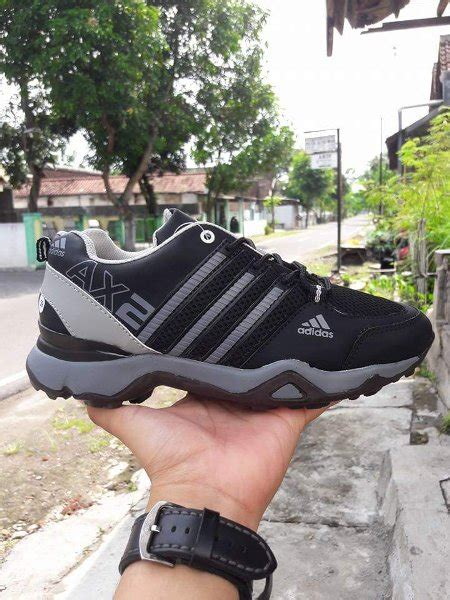 Sepatu Pria Adidas Ax2 Tex Casual Sport Made In Import jual sepatu pria adidas ax2 terrex hitam abu casual sport fitness lari