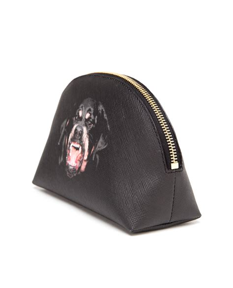 rottweiler givenchy givenchy rottweiler canvas cosmetic in black lyst