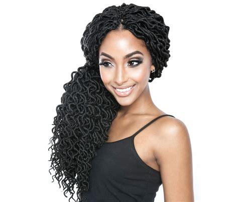 hair detail faux locs fashion nigeria mane afri naptural crochet loop braid curled faux locs 18 inch