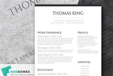 Classic Resume Template by Free Classic Resume Templates