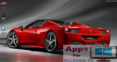 car wallpaper themes 5 best windows 10 themes hd free apps for windows 10