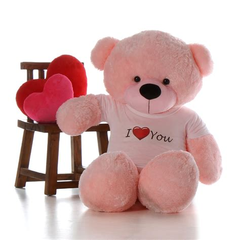 size teddy for valentines day 5ft size teddy for valentine s day pink