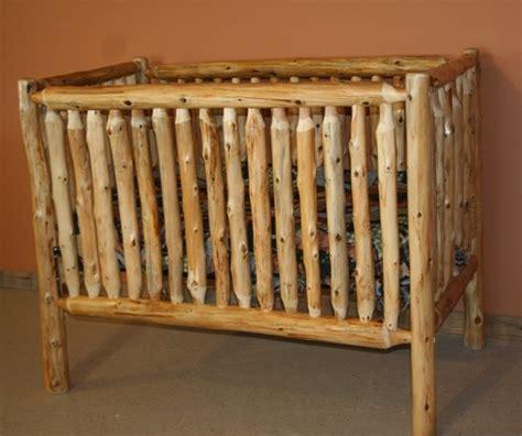 cedar log baby crib log baby furniture and childrens log furniture barn wood