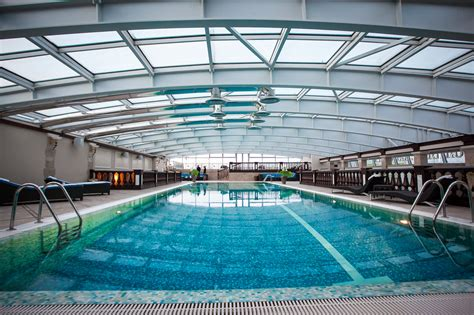 swimming pool hotel with spa and swimming pool in st petersburg