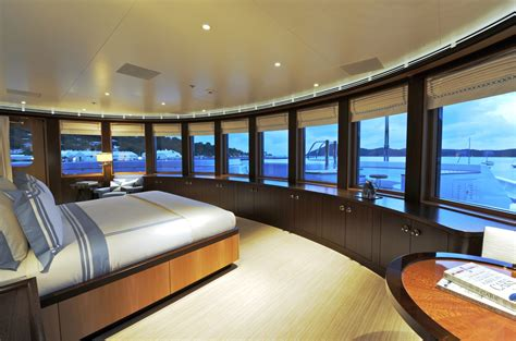 5 bedroom yacht master cabin yacht mad summer superyachts news luxury