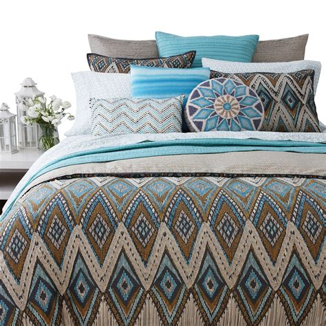 sky bedding sky ikat diamond bedding bloomingdale s