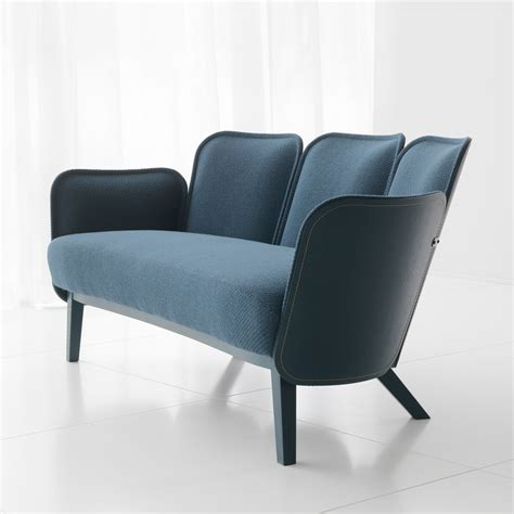 Armchair Tourist Design Ideas F 228 Rg Blanche Stitches Fabric And Wood Together To Form Julius Seating Collection Decor10