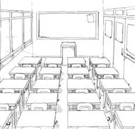 Drawing 1 Class In College by Classroom 18 Buildings And Architecture Printable