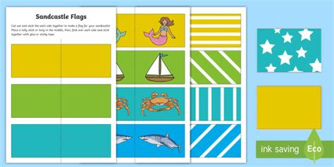 flags of the world early years sandcastle flags activity sheets eyfs early years early