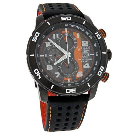Jam Swiss Army Balok Leather Black Orange citizen eco drive mens primo chronograph black orange leather ca0467 11h 13205100055 ebay
