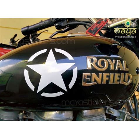 Remove Stickers From Wall pair of 2 star sticker for bikes cars laptop royal enfield