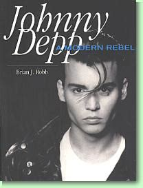 johnny depp biography book rio s attic phoenix bookshelf