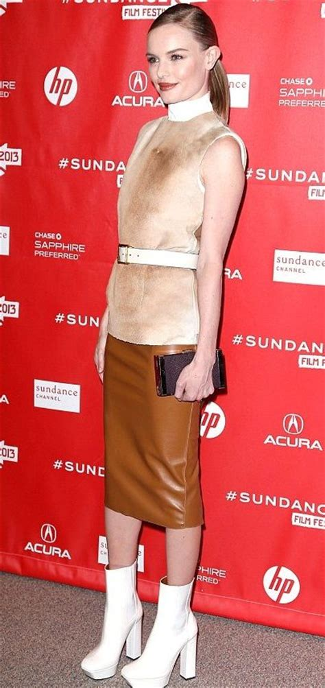 Nothing Gets Between Kate Bosworth And Calvin Klein by Kate Bosworth In Calvin Klein 2013 Sundance Festival