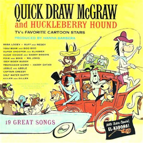 theme song quick draw mcgraw children s records more quick draw mcgraw and