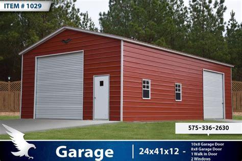 enclosed garage  eagle carports alto portable