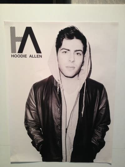 Who Wants Allen Swag by Ha Black White Poster 183 The Hoodie Allen Swag Shop