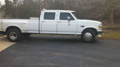 buy used 1995 ford f350 dually crew cab 7 3 turbo diesel great truck in for us 5 900 00