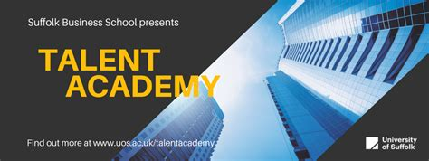 Suffolk Mba International Business by Suffolk Business School Talent Academy 2017 18