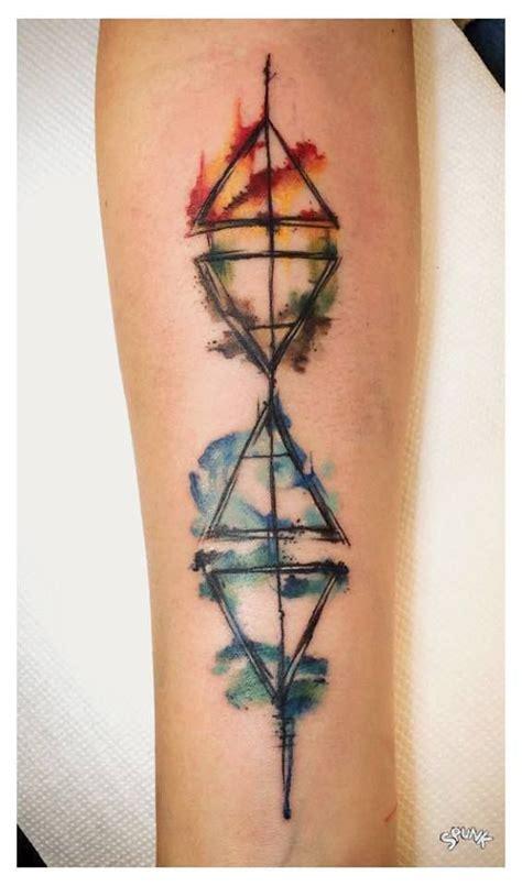 geometric tattoo washington dc the 25 best geometric watercolor tattoo ideas on