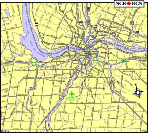 ottawa canada on a map ottawa ontario tourist map ottawa mappery