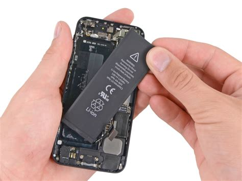 iphone battery ifixit s walkthrough details diy iphone 5 battery replacement process