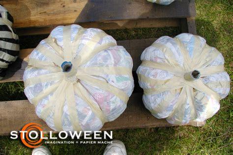 How To Make Paper Mache Pumpkins - brookhaven sanitation schedule gt gt bridge work
