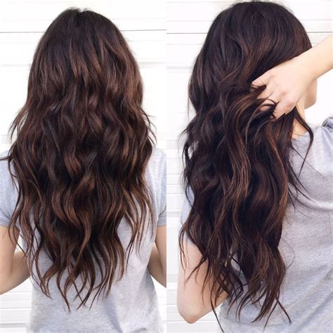 dyed hairstyles for brunettes best 25 brunette hair colors ideas on pinterest