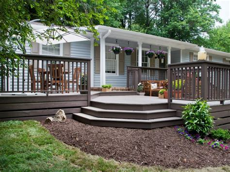 fabulous front yard decks and patios hgtv