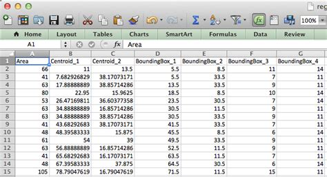 Matlab Tables by Regionprops Tables And Struct2table 187 Steve On Image