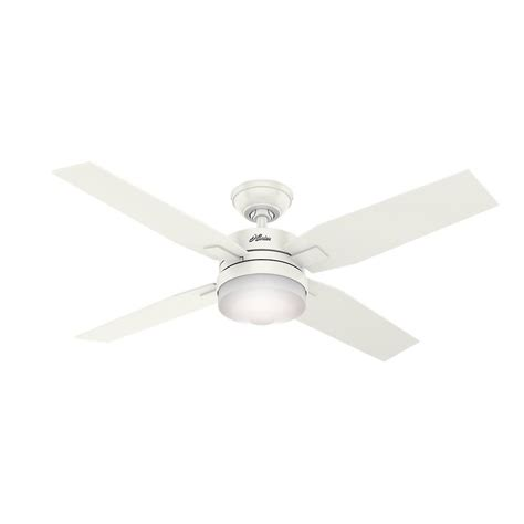 White Ceiling Fan With Light And Remote Mercado 50 In Led Indoor Fresh White Ceiling Fan With Light And Universal Remote 59349