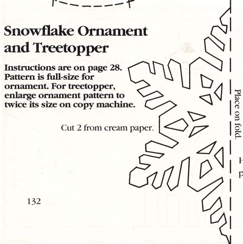3d snowflake template 3d snowflake tree topper or ornament marges8 s