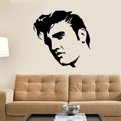 wall mural templates elvis large bedroom wall mural sticker stencil