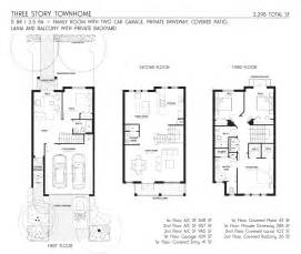 Three Story Townhouse Floor Plans 3 Story Townhouse Floor Plans Galleryhip Com The