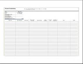 home inventory list template home inventory list template sourceforge net