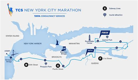 nyc marathon map tcs new york city marathon nov 04 2018 world s marathons