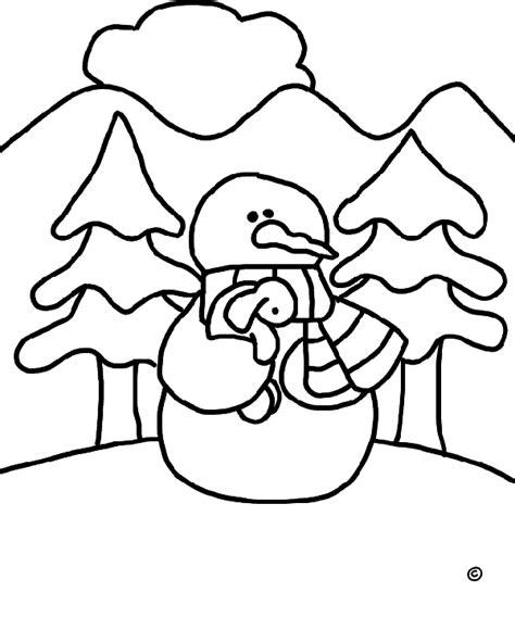 imagenes de invierno dibujos animados dibujos de invierno para colorear y pintar 174 chiquipedia