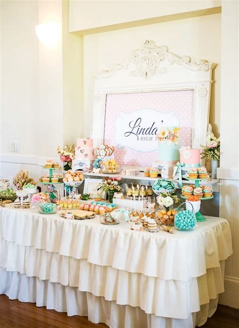 afternoon tea themed wedding team wedding bridal shower idea high tea