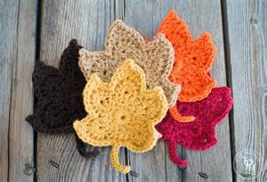 Diy Spring Home Decor by Fall Maple Leaves Free Crochet Pattern