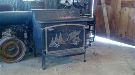 Fisher Grandpa Bear Wood Stove.   Nex Tech Classifieds