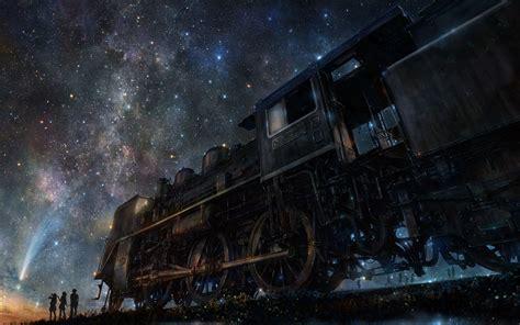 wallpaper engine best settings 3840x2400 wallpaper iy tujiki art night train anime