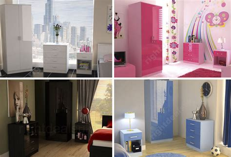 pink and white gloss bedroom furniture caspian high gloss bedroom furniture sets boys girls pink