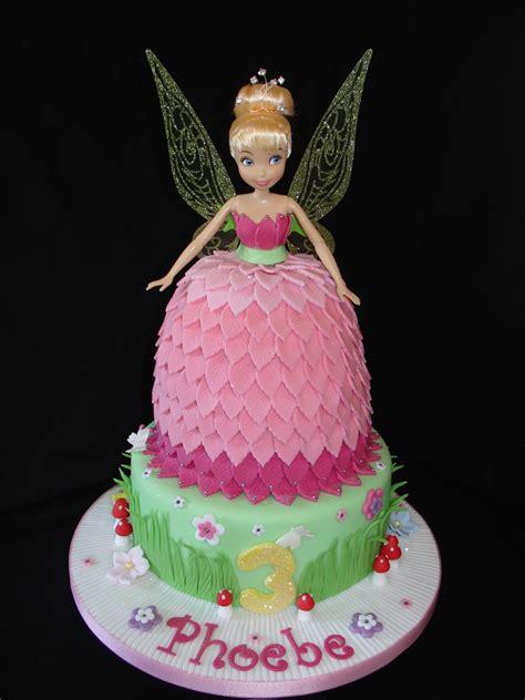 pink tinkerbell doll dress fondant cake  cupcakes cakecentralcom