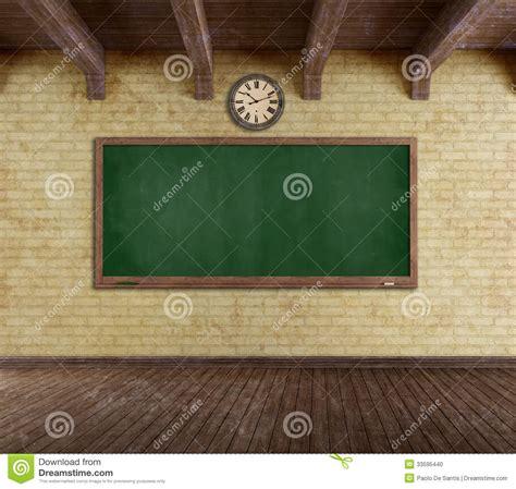 grunge empty classroom stock photo image