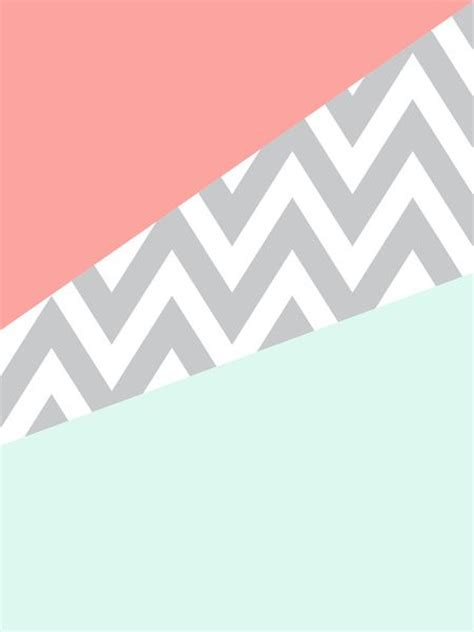Ready Selasa Set Mint Lz original mint coral chevron block guest rooms iphone 4s and phone backgrounds