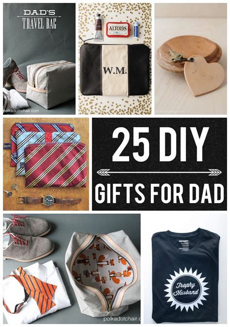 great xmas gifts for dad 25 diy gifts for on polka dot chair