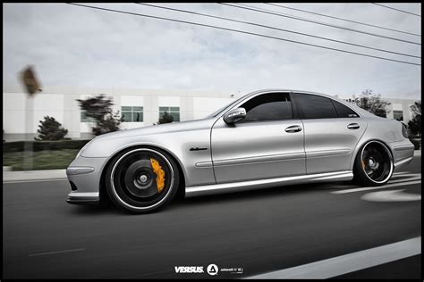 lowered amg 2009 mercedes e class amg lowered on 20s discussion