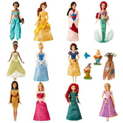 Princes Set deluxe disney princess classic dolls set of 11